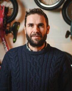 Jamie Clark, owner and founder of J'aimebike in Brentwood, London