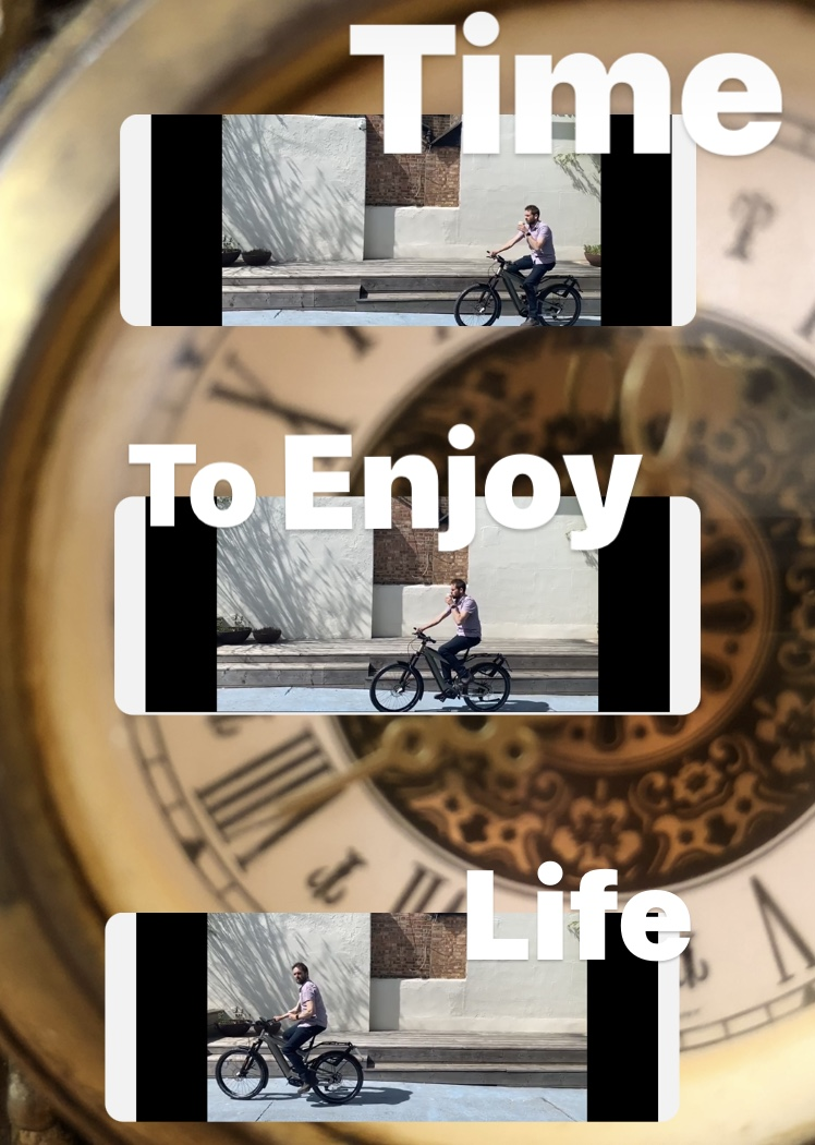 Time to enjoy life with an ebike