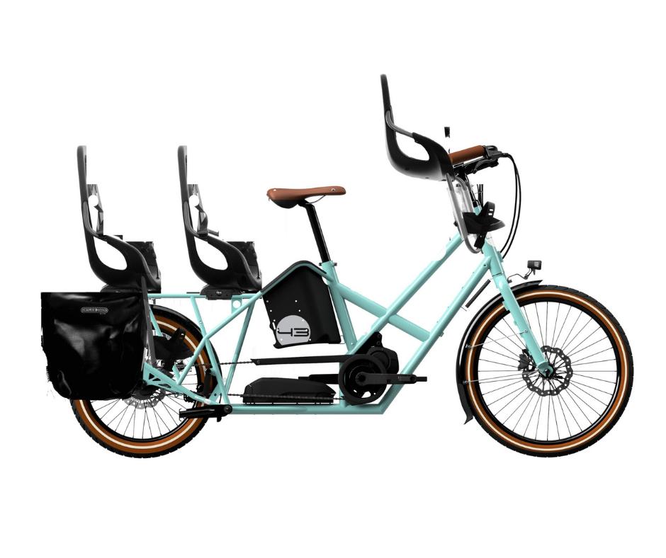 Bike 43 electric cargo bike