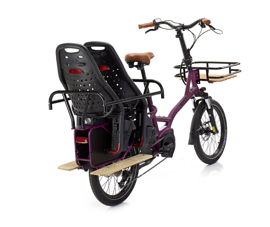 KIFFY capsule cargo electric bike at Jaimebike London